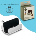 Docking Station Micro Usb Charge-Data Silver