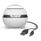Portable Speaker MS-100/USB/5W Magic Light White