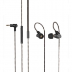 Earphone Remax Double Moving-coil RM-580 Black