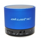 Portable Bluetooth Speaker Akustic Blue