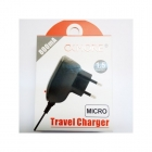 Charger Travel OkMore Micro Usb 800mA 1.5m Long Black