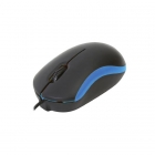 Mouse Wired Omega OM-07VBL Blue