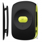 Mp3 Player Fm Radio Osio 4GB Κλιπ Ζωνης Black/Green