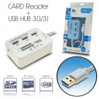 Hub 3.1/3.0 + Card Reader USB 3.0