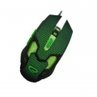 Mouse Wired Gaming Cobra EGM207G Black/Green