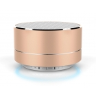 Portable Bluetooth LED-804/SD/Aux/USB/FM  Rose Gold