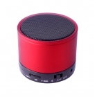 Portable Bluetooth K-S10 3W/SD/FM/Aux in Red