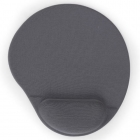 Mousepad Gel Gembird With Wrist Rest Grey