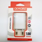 Charger Adaptor Travel 1Usb 1A OkMore White