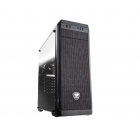Case Middle Cc-Cougar MX330-G Tempered Glass Black Usb 3.0