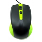 Mouse Wired R-Horse Usb Green/Black
