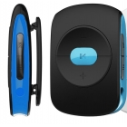 Mp3 Player Fm Radio Osio 4GB Κλίπ Ζώνης Black/Blue
