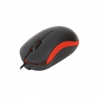 Mouse Wired Omega USB red OM-07VR