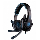Gaming Headset Sades Usb- 7.1CH Wolfang