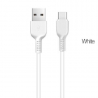 Cable Data-Charging Type C Usb Fast Charge White 1m