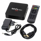 Android Tv Box 4K Media Player MXQ-PRO