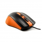 Mouse Wired R-Horse Orange/Black