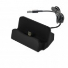 Docking Station Micro Usb Charge-Data Black