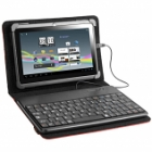 TRACER TABLET CASE WITH KBRD 7-8 SMART FIT RED