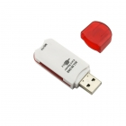 Card Reader All-in-One USB 2.0 White/Red