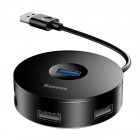 Hub Usb 3.0 Baseus Round Box  4 Port