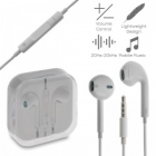 Handsfree Earphones QJ5-E1 White