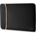 Sleeve HP Neoprene Reversible 15.6  Black/Gold