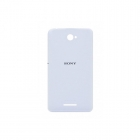 Sony Xperia E2105 E4/E2115 Dual White Battery Cover Or