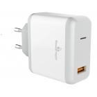 Charger Adaptor Travel 1x USB 18W 3A QC 3.0 White