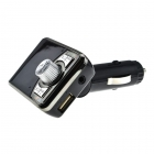FM Transmitter Car MP3/FM/BT Player + Charger Silver/Black