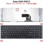 Keyboard  SVE15 Black 1,8cm