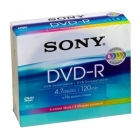 DVD-R SONY 16x 120min 4,7Gb Slim Case COLOR