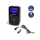Mp3 Player Fm Radio Osio 8GB Οθόνη TFT 1 Βlack/Grey