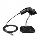 Barcode LS1203 Black USB Kit With Stand