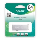 USB Flash Drive Apacer AH333 64GB USB 2.0 Silver