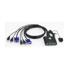 KVM Switch 2 port USB Aten CS22U