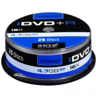 DVD+R Intenso 4,7GB, 16x Speed  Cake 25τεμ.