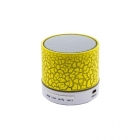 Portable Bluetooth Mini Speaker Music Yellow QH31