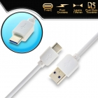 Cable Charger-Data Type-C USB 1m White