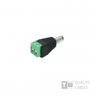 Male Jack Converter Adapter DC Power Connector 1τεμ.