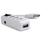Hub Usb Gembird 4-Port With Switch Usb 2.0 White