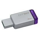 USB Flash Drive DT50 USB 2.0 8GB Purple