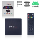 Android TV-Box Leovin TX8 MAX UHD 4K 4/64GB
