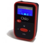 Mp3 Player Fm Radio Osio 8GB Οθόνη TFT 1 Red