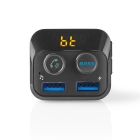 Transmitter FM Audio Nedis CATR120BK3  in 1 Bluetooth