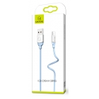 Cable Charger-Data Lightning Ice-Cream US-SJ245 1m Blue