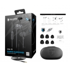 Gaming Earphones Wings10 Ssdes Magnetic 10mm 3.5mm Black
