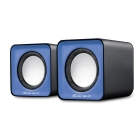 Speaker Element SP-10B V2.0 5WRMS 3.5mm+USB Blue