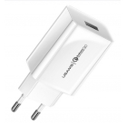 Charger Adaptor Travel T18 1x USB 2.1A White