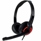 Headset Sonic Gears Xenon 2 Black Festive Red